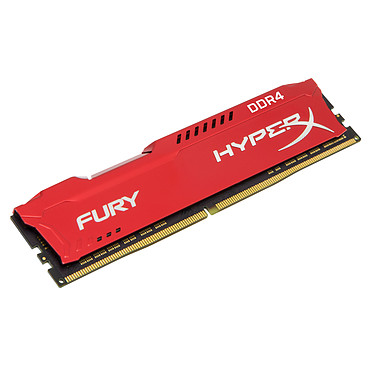 HyperX Fury Rouge 8 Go DDR4 2400 MHz CL15