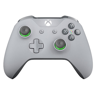Microsoft Xbox One Wireless Controller Gris et Vert