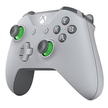 Avis Microsoft Xbox One Wireless Controller Gris et Vert