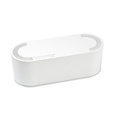 D-Line Cable Tidy Unit Small (blanc)
