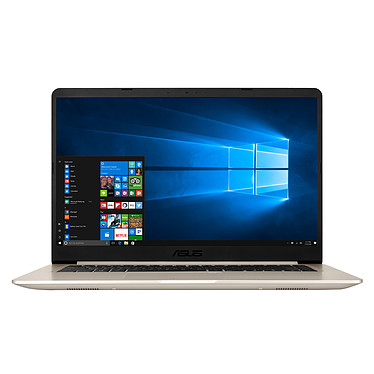 "ASUS Vivobook S15 S510UA-BQ113T Intel Core i5-7200U 8 Go SSD 128 Go + HDD 1 To 15.6"" LED Full HD Wi-Fi AC/Bluetooth Webcam Windows 10 Famille 64 bits (garantie constructeur 2 ans)"