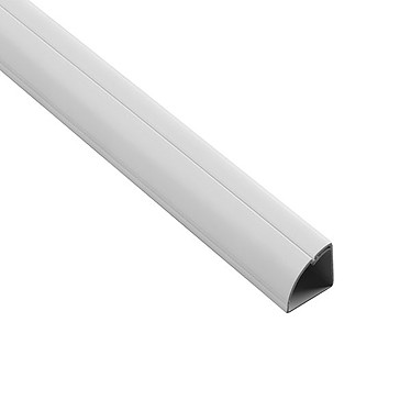 D-Line moulure blanche 22 mm x 22 mm