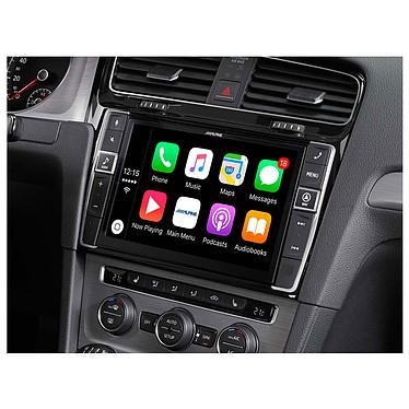 Alpine I902D-G7 Système multimédia Apple CarPlay, Android Auto avec écran tactile 9 pouces, HDMI, port USB et entrée AUX pour Volkswagen Golf 7