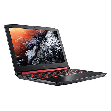 "Acer Nitro 5 AN515-51-53BW Intel Core i5-7300HQ 8 Go SSD 256 Go + HDD 1 To 15.6"" LED Full HD NVIDIA GeForce GTX 1050 4 Go Wi-Fi AC/Bluetooth Webcam Windows 10 Famille 64 bits (Garantie constructeur 2 ans)"