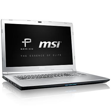 "MSI PE72 7RD-1230FR Intel Core i7-7700HQ 8 Go SSD 128 Go + HDD 1 To 17.3"" LED Full HD 120 Hz NVIDIA GeForce GTX 1050 4 Go Wi-Fi AC/Bluetooth Webcam Windows 10 Famille 64 bits (garantie constructeur 2 ans)"