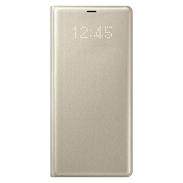 Samsung LED View Cover Or Samsung Galaxy Note 8 Etui à rabat avec affichage date/heure pour Samsung Galaxy Note 8