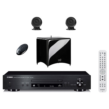 Yamaha CD-N301 Noir + Cabasse Stream 3 Noir