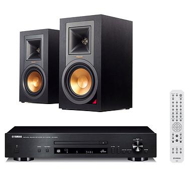 Yamaha CD-N301 Noir + Klipsch R-15PM