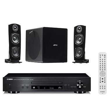 Yamaha CD-N301 Noir + Jamo DS7 Noir