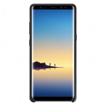 Avis Samsung Coque Alcantara Noir Samsung Galaxy Note 8