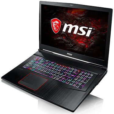 "MSI GE73VR 7RF-016FR Raider Intel Core i7-7700HQ 8 Go SSD 512 Go + HDD 1 To 17.3"" LED Full HD 120 Hz NVIDIA GeForce GTX 1070 8 Go Wi-Fi AC/Bluetooth Webcam Windows 10 Famille 64 bits (garantie constructeur 2 ans)"