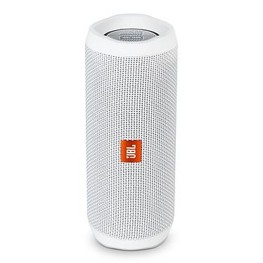 JBL Flip 4 Blanc Enceinte portable sans fil Bluetooth Waterproof avec fonction mains libres