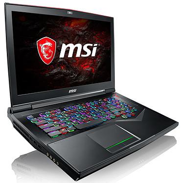 "MSI GT75VR 7RE-059FR Titan Intel Core i7-7820HK 16 Go SSD 256 Go + HDD 1 To 17.3"" LED Full HD 120 Hz NVIDIA GeForce GTX 1070 8 Go Wi-Fi AC/Bluetooth Webcam Windows 10 Famille 64 bits (garantie constructeur 2 ans)"