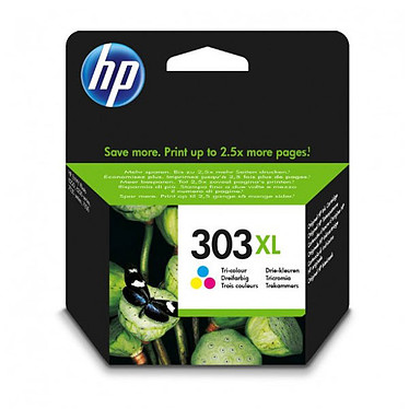 HP 303XL Cyan, Magenta, Jaune (T6N03AE) Cartouche 3 couleurs (415 pages à 5%)