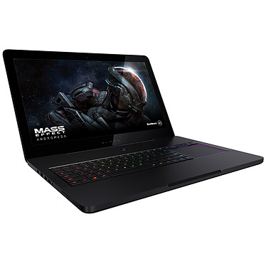 "Razer Blade Pro (RZ09-01663F52-R3F1) Intel Core i7-7820HK 32 Go SSD 512 Go (2x 256 Go) 17.3"" LED Tactile Ultra HD G-SYNC NVIDIA GeForce GTX 1080 8 Go Wi-Fi AC/Bluetooth Webcam Windows 10 Famille 64 bits"