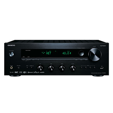 Onkyo TX-8270 Noir Ampli-tuner stéréo réseau 2 x 160 W  - Wi-Fi/Bluetooth - Chromecast - AirPlay - Tuner FM/DAB+ - Hi-Res Audio - DTS Play-Fi - Multiroom FireConnect - 4 entrées HDMI 2.0