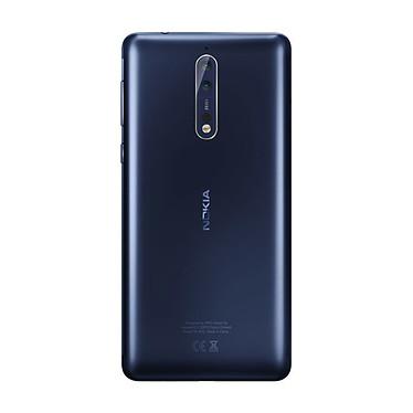 Nokia 8 Bleu Trempé pas cher