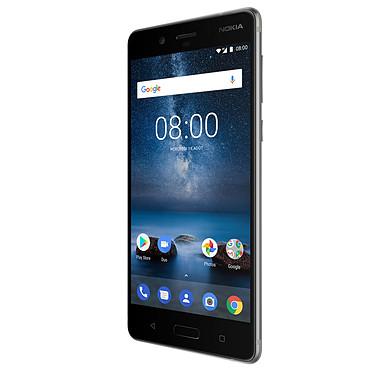 Avis Nokia 8 Acier Trempé