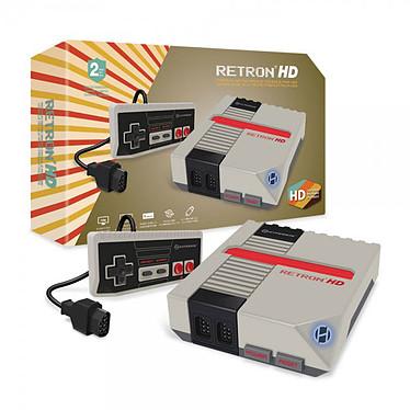 Hyperkin RetroN HD (Gris) Console pour cartouches NES avec contrôleurs