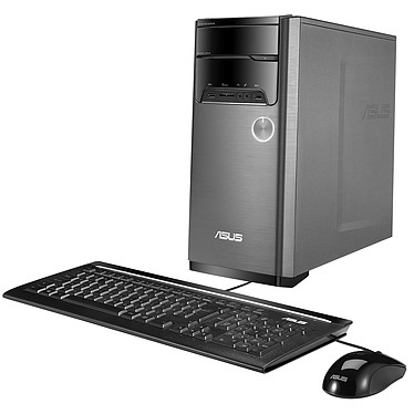 ASUS M32CD-K-FR021T Intel Core i7-7700 8 Go HDD 1 To NVIDIA GeForce GTX 1050 2 Go Graveur DVD Wi-Fi AC/Bluetooth Windows 10 Famille 64 bits (sans écran)