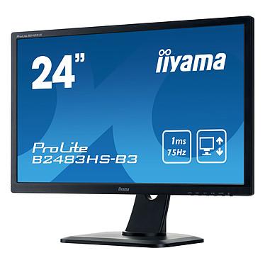 """Avis iiyama 24"""" LED - ProLite B2483HS-B3"""