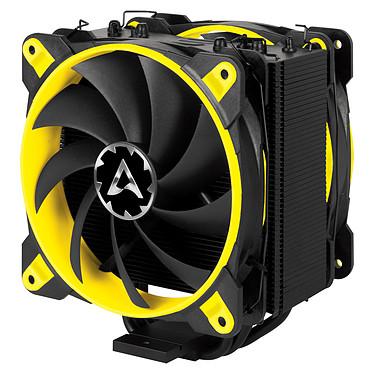 Arctic Freezer 33 eSports Edition - Jaune Ventilateur processeur (pour socket Intel 1150/1151/1155/1156/2011-v3/2066 et AMD AM4)