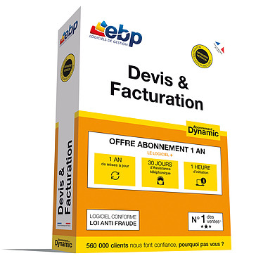 EBP Devis & Facturation Abonnement Dynamic