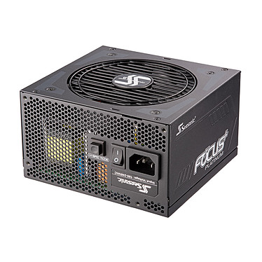 Seasonic FOCUS+ 550 W Platinum Alimentation modulaire 550W ATX 12V/EPS 12V - 80PLUS Platinum