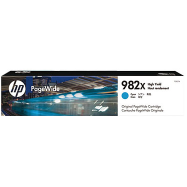 HP PageWide HP 982X (T0B27A) Toner Cyan (16 000 pages à 5%)