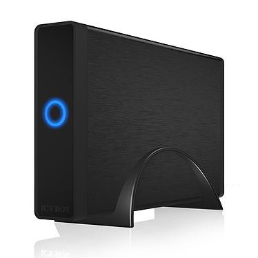 """Icy BOX IB-377U3 Caja de disco duro 3""""1/2 Serial ATA III en puerto USB 3.0 (color negro)"""