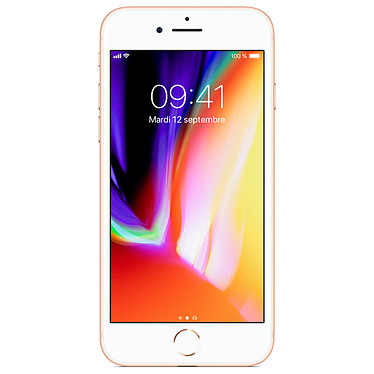"Apple iPhone 8 64 Go Or Smartphone 4G-LTE Advanced IP67 - Apple A11 Bionic Hexa-Core - RAM 2 Go - Ecran Retina 4.7"" 750 x 1334 - 64 Go - NFC/Bluetooth 5.0 - iOS 11"