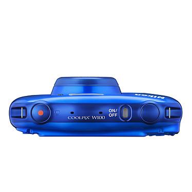Acheter Nikon Coolpix W100 Bleu + Sac à dos
