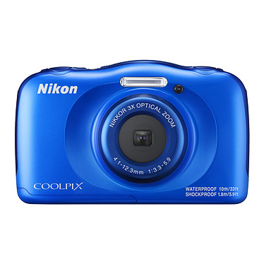 Avis Nikon Coolpix W100 Bleu + Sac à dos