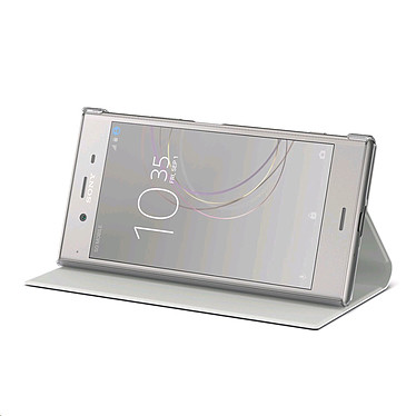 Sony Style Cover Stand Ivoire Xperia XZ1 pas cher
