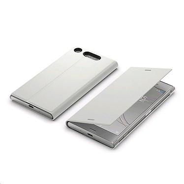 Avis Sony Style Cover Stand Ivoire Xperia XZ1