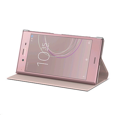 Sony Style Cover Stand Rose Xperia XZ1 pas cher
