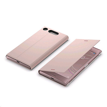 Avis Sony Style Cover Stand Rose Xperia XZ1