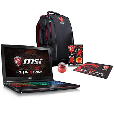 MSI GE62VR 6RF-079XFR Apache Pro + Pack MSI Back to School OFFERT !