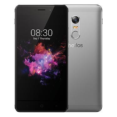 "Neffos X1 Max Gris ciel 32 Go Smartphone 4G-LTE Dual SIM - Helio P10 8-Core 2.0 GHz - RAM 3 Go - Ecran tactile 5.5"" 1080 x 1920 - 32 Go - Bluetooth 4.1 - 3000 mAh - Android 6.0"