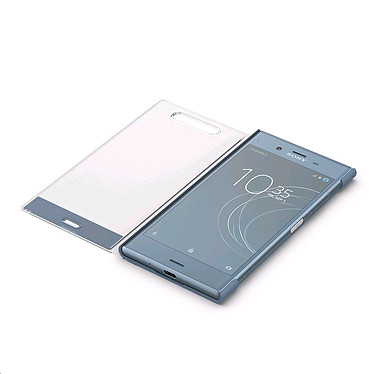 Avis Sony Style Cover Touch SCTG50 Bleu/Gris Sony Xperia XZ1