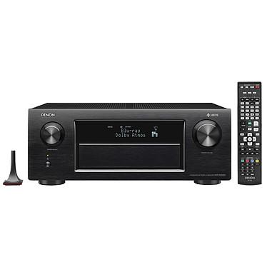 Denon AVR-X6400H Noir Ampli-tuner A/V réseau 11.2 - 205W - Dolby Atmos et DTS:X - Multiroom - 3D Ready - DLNA/AirPlay/Bluetooth/Wi-Fi - 8 entrées HDMI - 4K Ultra HD - HDR - HDCP 2.2
