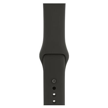 Avis Apple Watch Edition Series 3 GPS + Cellular Céramique Gris Sport Gris/Noir 38 mm