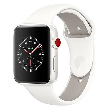 Apple Watch Edition Series 3 GPS + Cellular Céramique Blanc Sport Coton 38 mm
