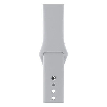 Avis Apple Watch Series 3 GPS + Cellular Aluminium Argent Sport Nuage 42 mm