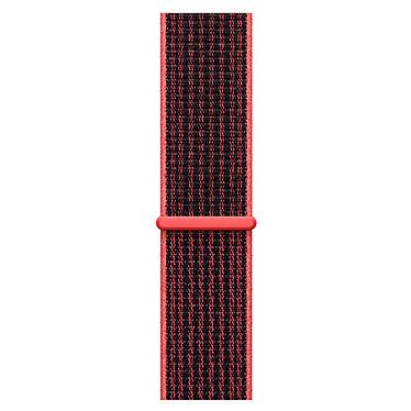 Avis Apple Watch Nike+ Series 3 GPS + Cellular Aluminium Argent Sport Cramoisi/Noir 38 mm