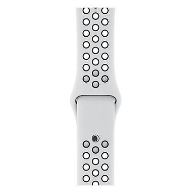 Avis Apple Watch Nike+ Series 3 GPS + Cellular Aluminium Argent Sport Platine/Noir 38 mm