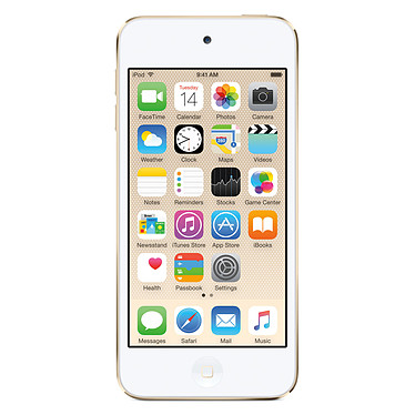 """Apple iPod touch 128 Go Or Lecteur MP4 avec Puce A8, écran Retina 4"""", Wi-Fi et Bluetooth sous iOS 10"""