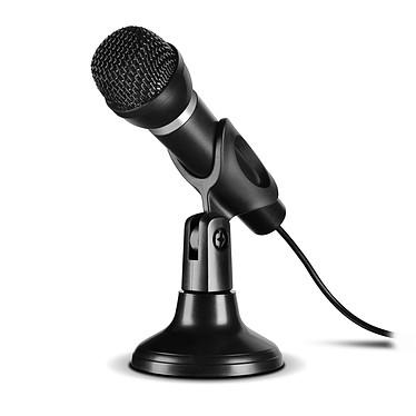 Speedlink Capo (USB) Microphone USB avec support pour PC (compatible karaoké, streaming...)