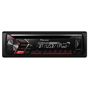 Pioneer DEH-S4000BT Autoradio CD/MP3 USB Bluetooth et entrée AUX compatible iPhone et Android