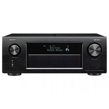 Denon AVR-X4400H Noir Ampli-tuner A/V réseau 9.2 - 200W - Dolby Atmos et DTS:X - Multiroom - 3D Ready - DLNA/AirPlay/Bluetooth/Wi-Fi - 8 entrées HDMI - 4K Ultra HD - HDR - HDCP 2.2